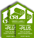 The Carpet and Rug Institute's (CRI) Green label Plus