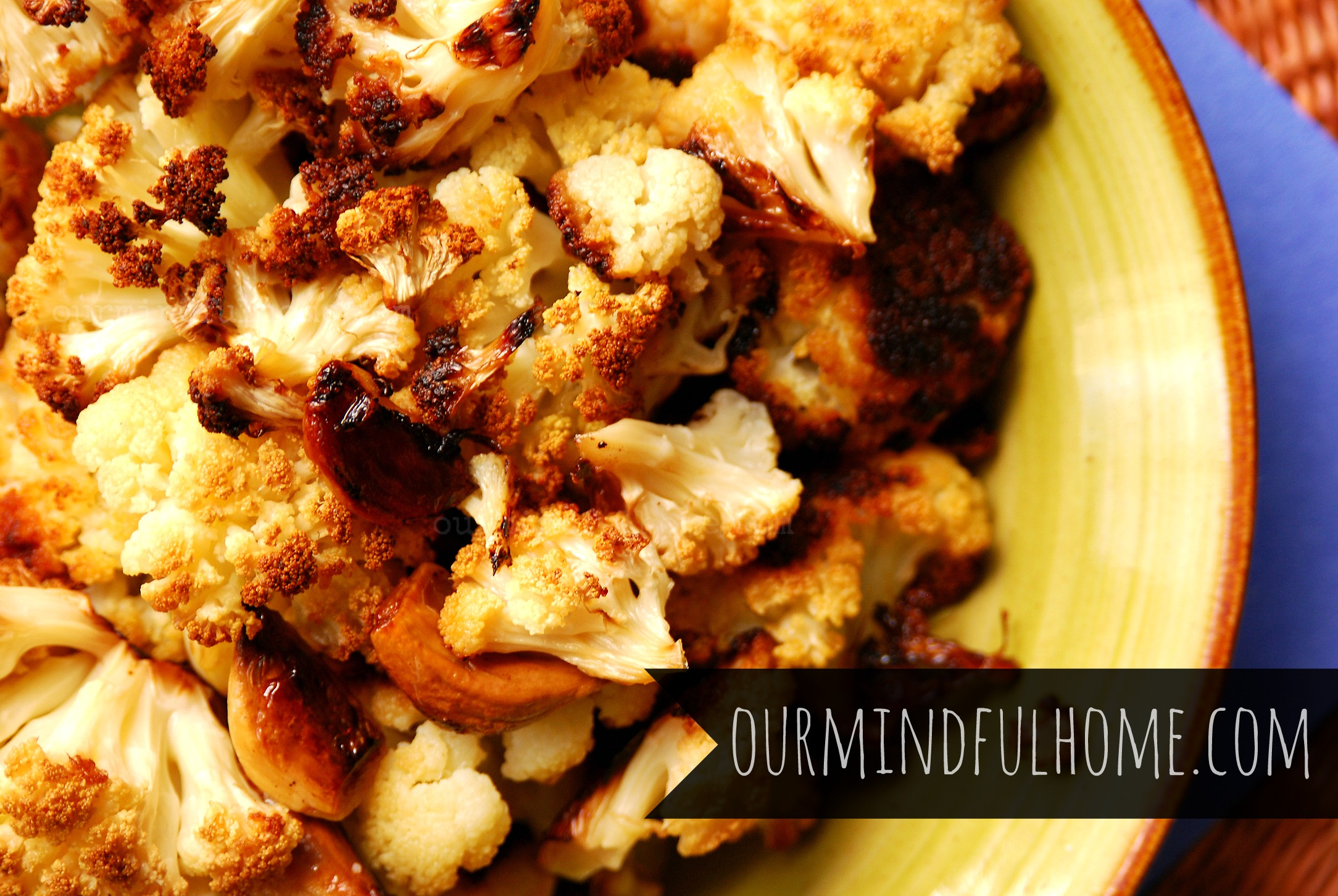 cauliflower twice baked cauliflower roast ed cauliflower spicy roasted ...